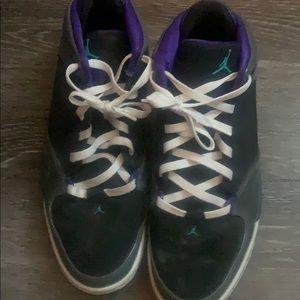 Worn Jordan Jumpman Sneakers